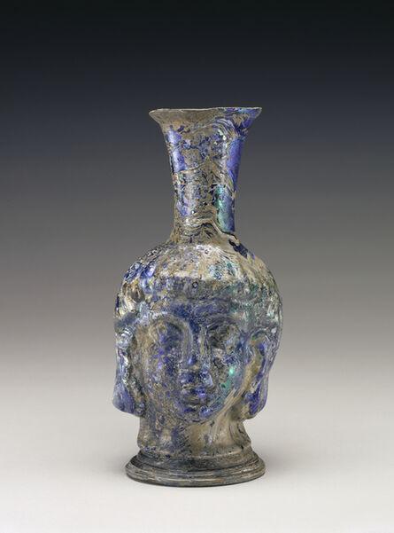 'Head Flask',  4th -5th century