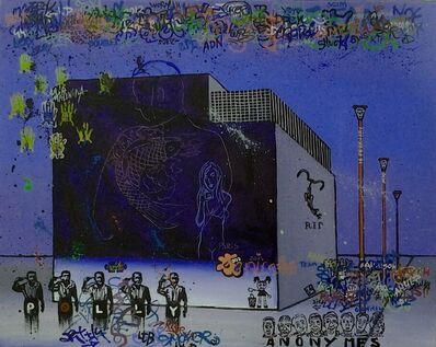 Julia Malinina, 'Graffiti Series. Paris. 16 february. ', 2014