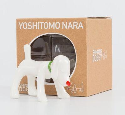 Yoshitomo Nara, 'Shinning Doggy (White)', 2015