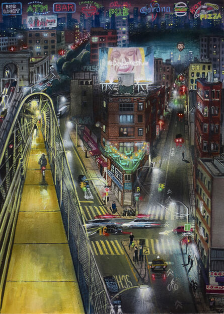 Stipan Tadić, 'Manhattan Bridge', 2021