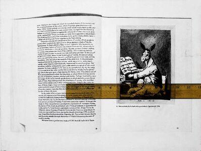 Andrea Mastrovito, 'Conversation raisonnée avec Francisco Goya 1', 2016