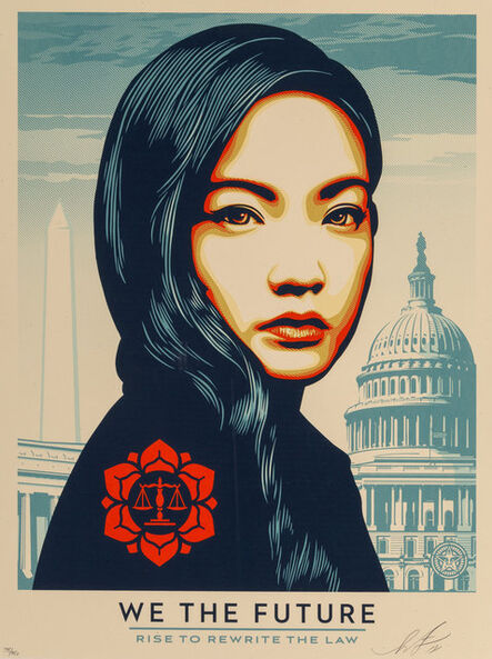 Shepard Fairey, 'Untitled, from We The People', 2018