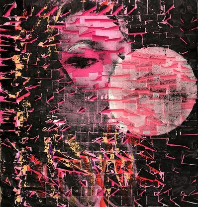 Ardan Özmenoğlu, 'Beauty Balloon Pink with Triangles', 2020