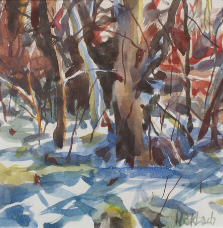 Kevin Weckbach, 'Morning after Snowfall'