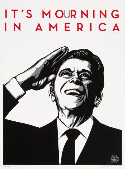Shepard Fairey, 'It's Mourning in America', 2011