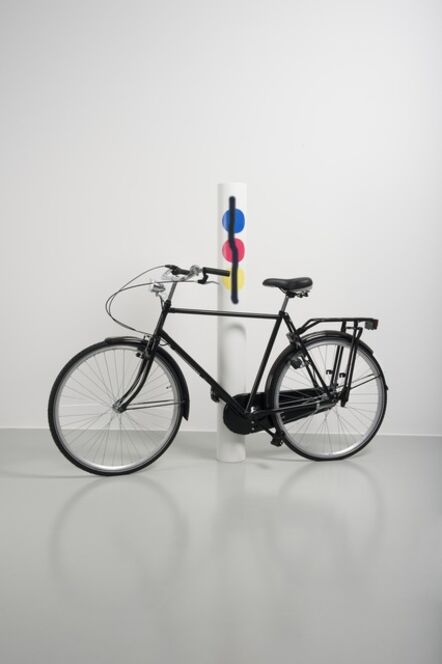 Mathieu Mercier, 'Untitled (Bike/primary aerosol)', 2012