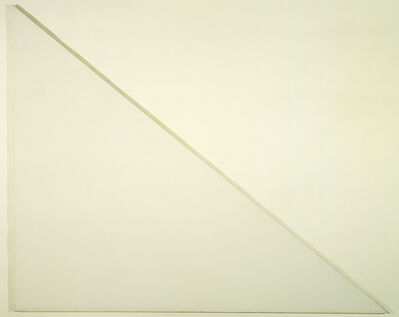 Barnett Newman, 'Unfinished Painting (The Sail)', 1970