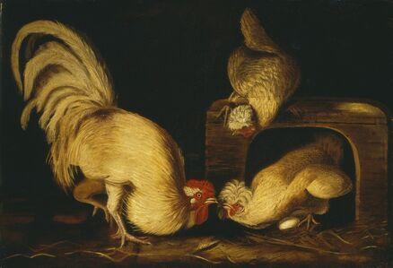 John James Audubon, 'Farmyard Fowls', ca. 1827
