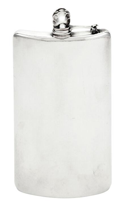 Georg Jensen, 'Sterling Silver Flask, Model no. 550'