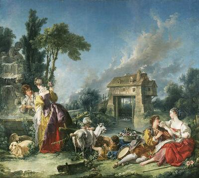 François Boucher, 'The Fountain of Love', 1748