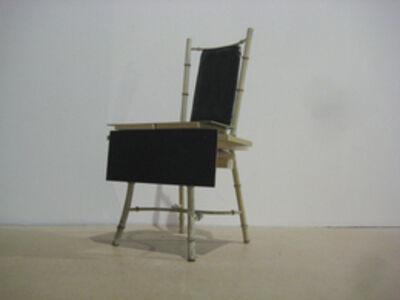 Graham Hudson, 'Black to Black chair', 2009