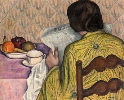 Jane Rogers, 'Breakfast', 1927