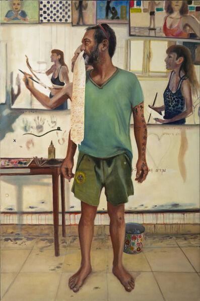Zamir Shatz, 'Give him in the Nose', 2017