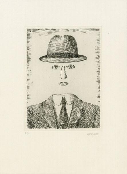 René Magritte, 'Paysage de Baucis', 1966
