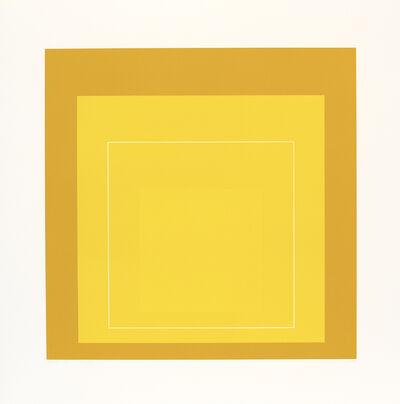 Josef Albers, 'WLS X', 1966