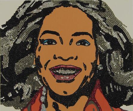 Mickalene Thomas, 'When Ends Meet (Oprah and Condolezza) set of 2', 2008
