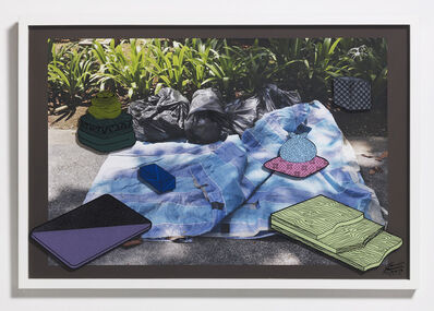 Teppei Kaneuji, 'Games, Dance and the Constructions (Singapore) #7-A', 2014