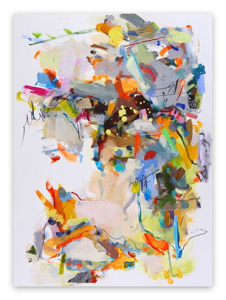 Gina Werfel, 'Night  (Abstract Expressionism painting)', 2014