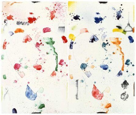 Jim Dine, '2 Hearts (The Donut)', 1970-1972