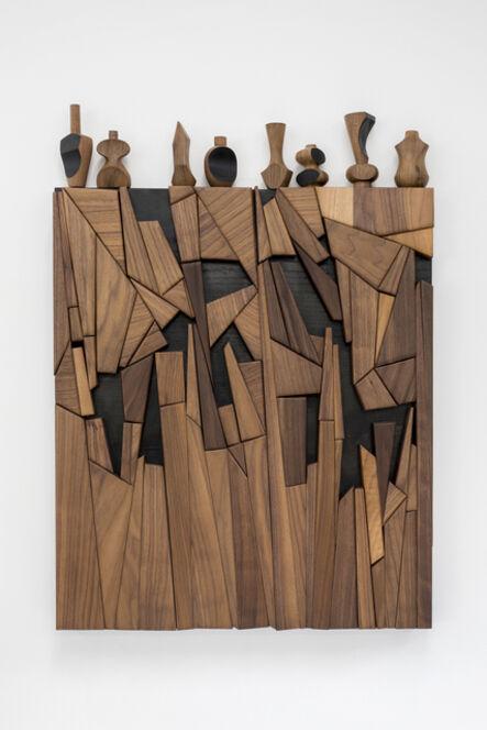 Edgar Orlaineta, 'Naturaleza Muerta (Desnudo descendiendo escalera)', 2018