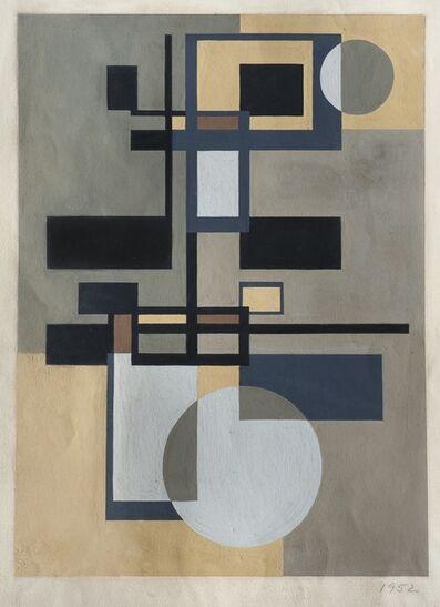 José Pedro Costigliolo, 'Construcción con círculos', 1952