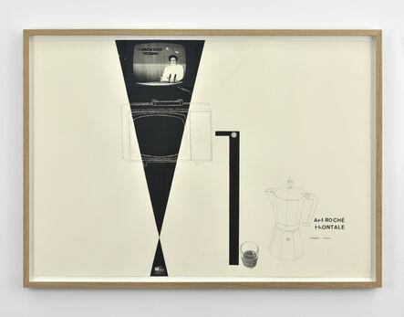 Richard Baquié, 'Dessins (Approche frontale)', 1992