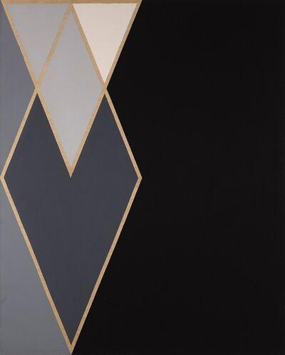 Larry Zox, 'ILLIAC (Diamond Drill Series)', 1967