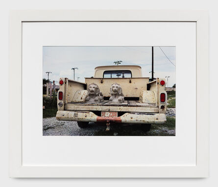 William Eggleston, 'Untitled (Stone lions in truck bed) from the Los Alamos Portfolio', 1965-74