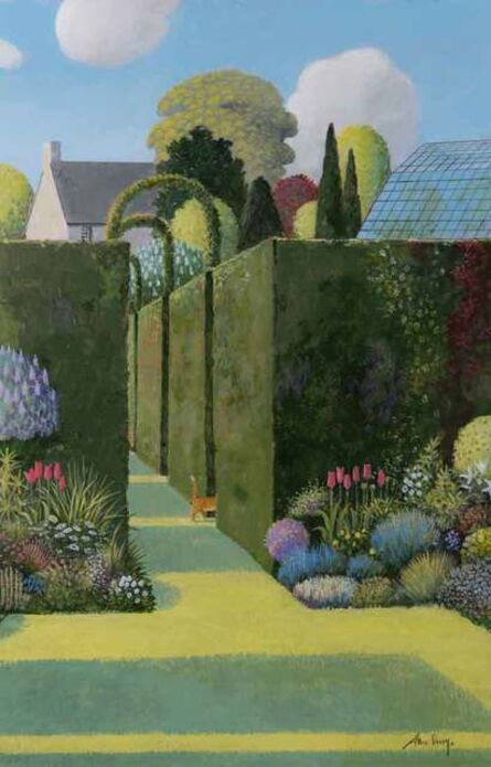 Alan Parry, 'Garden Room', 2018