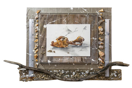 Nall, 'Egrets and Conche Shell', 2015