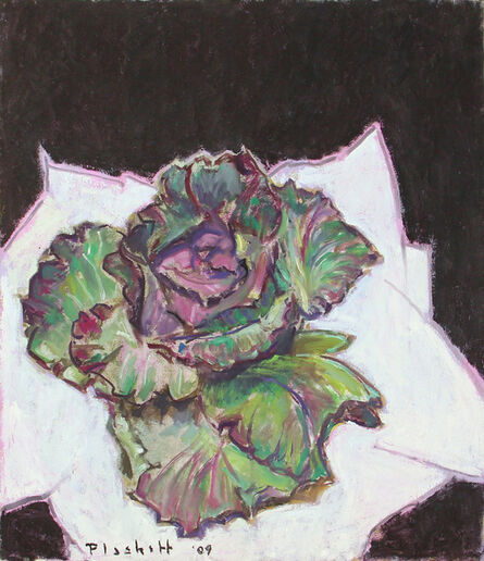 Joseph Plaskett, 'Green & Purple Cabbage', ca. 2009