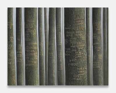 Sean Landers, 'Dark Trees (Hello!)', 2014