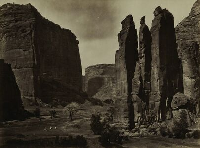 Timothy H. O'Sullivan, 'Cañon de Chelle', 1870-1874