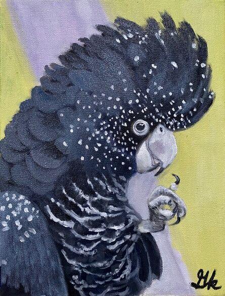 Gemma Kahng, 'Glossy Black Cockatoo', 2021
