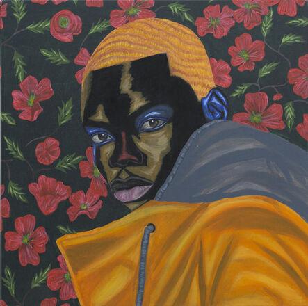 Adegboyega Adesina, 'Portrait of Adewale', 2021