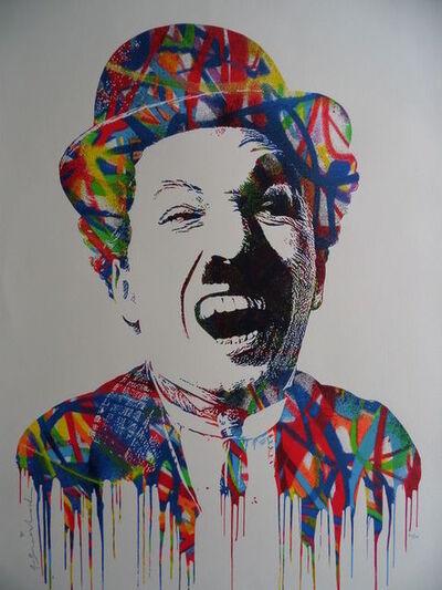 Mr. Brainwash, 'Charlie Chaplin', 2016