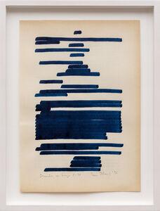 Irma Blank, 'Osmotic Drawings C-10', 1996