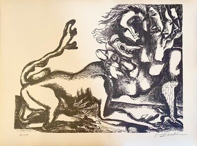 Ossip Zadkine, 'The Labours of Hercule - Fight against the Hydra of Lerna', 1960