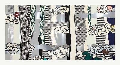 Roy Lichtenstein, 'Water Lilies with Willows', 1992