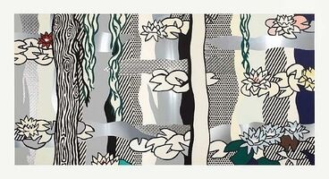 Roy Lichtenstein, 'Water Lilies with Willows', 1992