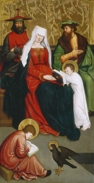 Bernhard Strigel, 'Saint Mary Salome and Her Family', ca. 1520/1528