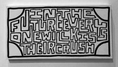 Timothy Goodman, 'Kiss Your Crush', 2021