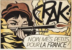 Roy Lichtenstein, 'Crak!'', 1964