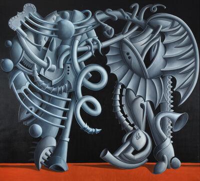 Valton Tyler, 'Blue and Gray', 1983