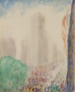 Abraham Walkowitz, 'New York', 1908
