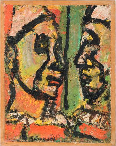 Georges Rouault, 'Face à face', 1951