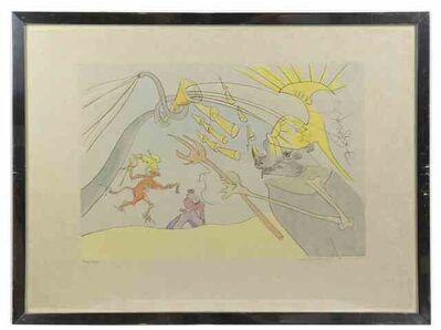 Salvador Dalí, 'The Elephant and Jupiter's Monkey', 1974
