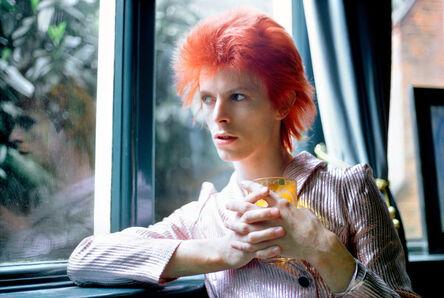 Mick Rock, 'Bowie Haddon Hall Reflection', 1972