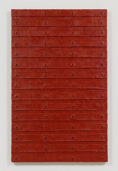 Harmony Hammond, 'Red Stack', 2015