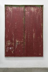 Carlos Bunga, 'Construcción Pictórica (Rojo intenso)', 2018